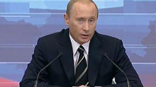 Путин предупреди за ново спиране на газа