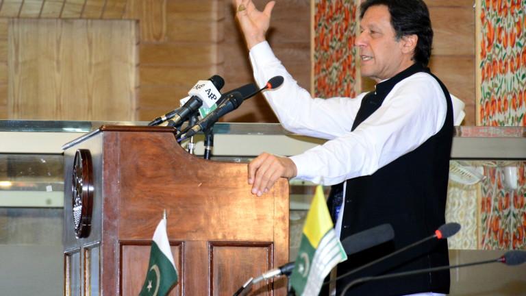 Премиерът на Пакистан Имран Хан призова международната общност да прецени