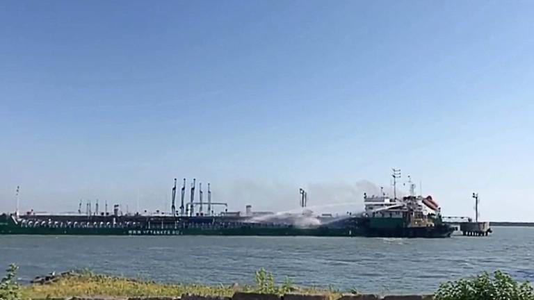 Четирима души станаха жертвите от експлозията на танкер в Махачкала,