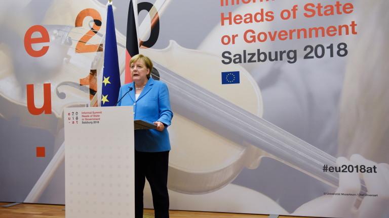 Ангела Меркел: Германия ще организира прекрасно Европейско първенство