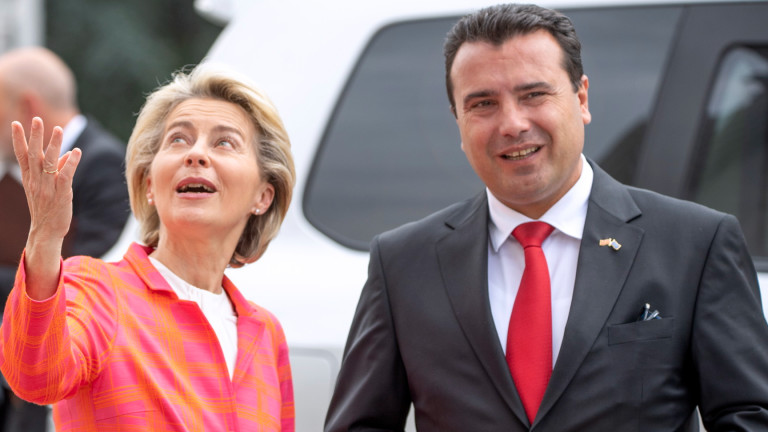 Заев: България е единствената страна-пречка по пътя на Северна Македония към ЕС