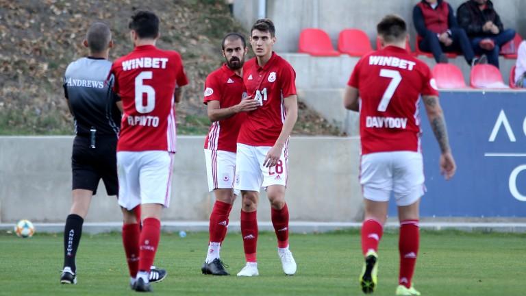 ЦСКА ще играе контрола в Гърция