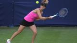 Цвети Пиронкова трябва да играе своя четвъртфинал днес