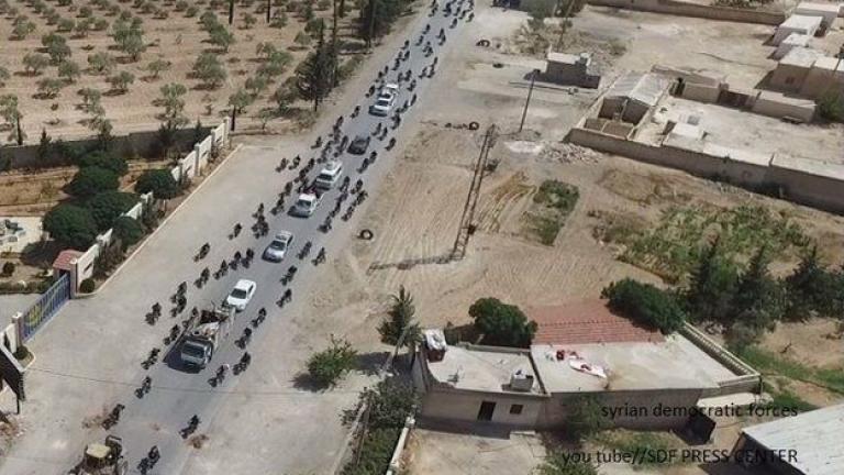Кюрдите обявиха, че се изтеглят от Манбидж