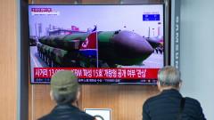 Северна Корея показа междуконтинентална балистична ракета без аналог в света