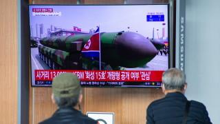 В Пентагона не знаят дали КНДР подготвя изпитание на междуконтинентална ракета