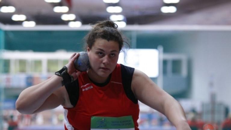 Яна Копчева постави поредния си национален рекорд. Това се случи