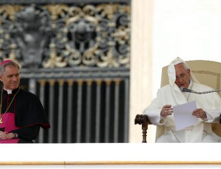 Папата погна ватиканската банка заради прането на пари
