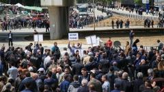 Антиправителствени протести в Албания