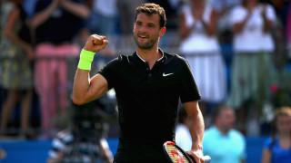 Григор Димитров на четвъртфинал в Лондон след труден успех срещу Жулиен Бенето