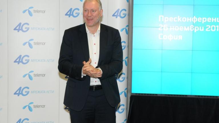 Бивш шеф на Mtel става изпълнителен директор на Telenor
