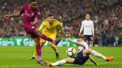 Мач за историята - Тотнъм приема запътилия се към четири купи Манчестър Сити