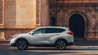 Honda показва обновения хибриден CR-V в Париж
