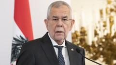 Президентът на Австрия нарушил вечерния час за коронавируса
