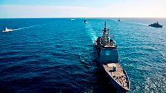"""""""Инвазия"""" на натовски кораби в Черно море"""