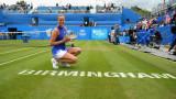 Петра Квитова вдигна купата във втория турнир след завръщането си