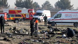 Пет страни с жертви от сваления самолет обсъждат правни действия срещу Иран