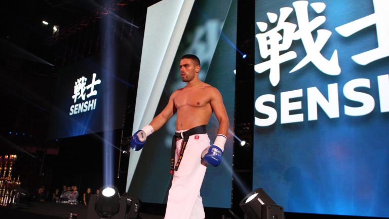 Николай Йоргов се готви да взриви ринга на SENSHI за пети път
