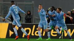 Лацио временно под номер 3, Милинкович-Савич с два гола