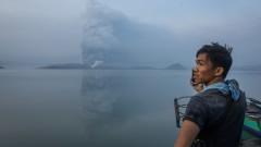 Изригналият във Филипините вулкан предизвика масова евакуация