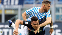 """Отменен гол не спря Интер, """"нерадзурите"""" с важна победа над опашкаря СПАЛ"""