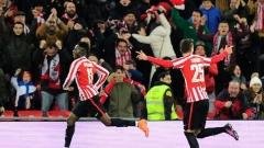 """НА ЖИВО: Атлетик (Билбао) - Барселона, """"баските"""" останаха с 9 души на терена!"""