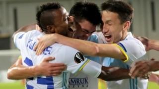 Впечатляващото представяне на Мъри и Астана в Лига Европа продължава (ВИДЕО)