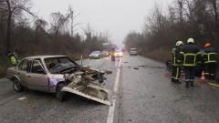Катастрофа затруднява движението на пътя Русе-Бяла