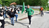 """Футболисти на Ботев (Враца) се включиха в щафетата """"Козлудуй-Околчица"""""""