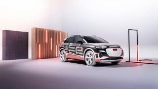 Audi представи Q4 e-tron за следващата моделна година