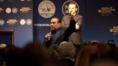 Берлускони: Спирам да ям месо!