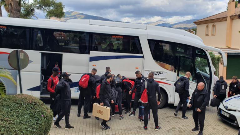 ЦСКА със собствен автобус до месец?