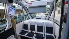 Безпилотен автобус катастрофира два часа след дебюта си във Вегас