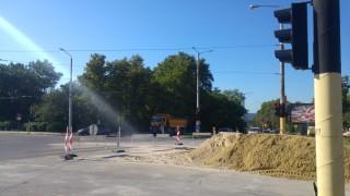 Ремонтират района около шуменската болница