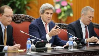 Кери защити споразумението за свободна търговия в Азия