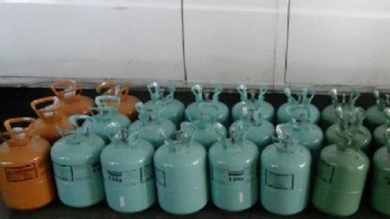 Задържаха близо 13 000 кг контрабанден хладилен агент на МП