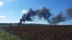 Техници предизвикали пожара във ВВС база в Белгия