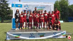 """Талантите на ЦСКА срещу Барселона в """"Danone Nations Cup"""""""