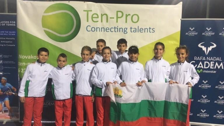 Седем победи за българчетата на турнира в академията на Рафаел Надал