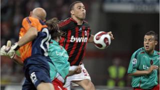 Роналдо най-сетне в игра за Милан