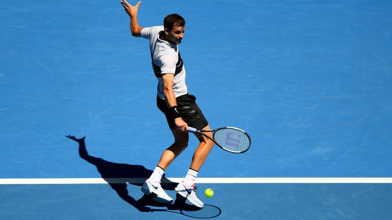 Григор Димитров ще играе втория си мач на Miami Open