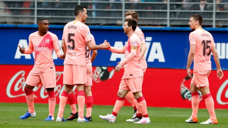 Ейбар и Барселона не се победиха в срещата помежду си