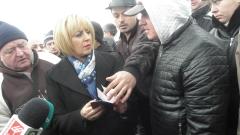 Манолова търси компромисно решение за бобовдолските миньори