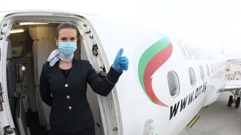 """От 25 март """"България Еър"""" възстановява полетите си до Израел"""