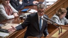 Новото чешко правителство не получи вот на доверие