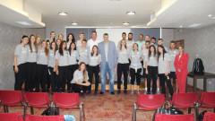 Любомир Ганев изнесе надъхваща реч пред волейболните националки