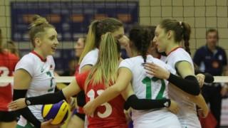 Волейболистките до 19 години започнаха със загуба от Турция на Евроволей 2020