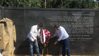 """От """"Демократична България"""" почетоха жертвите на тоталитаризма"""