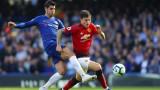 Дербито на кръга в Англия: Челси - Манчестър Юнайтед, Рос Баркли изравнява - 2:2!