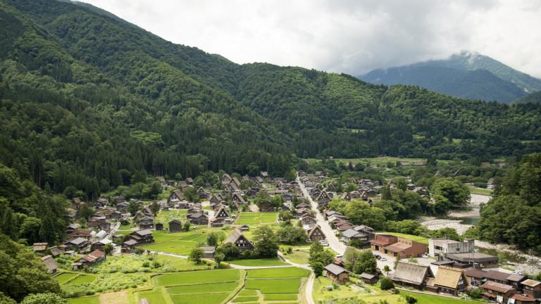 Цените на земята в Япония падат за втора поредна година